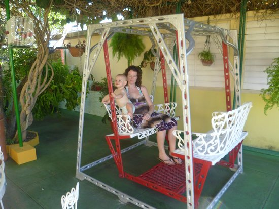 Casa de Mary y Angel: The chill out swing