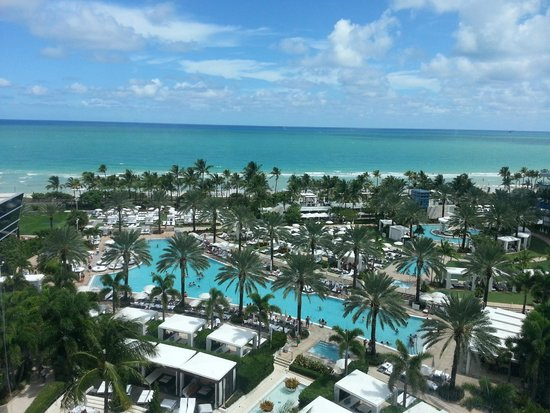 Fontainebleau Miami Beach Upgraded Ocean View Room Stunning Views And People Watching