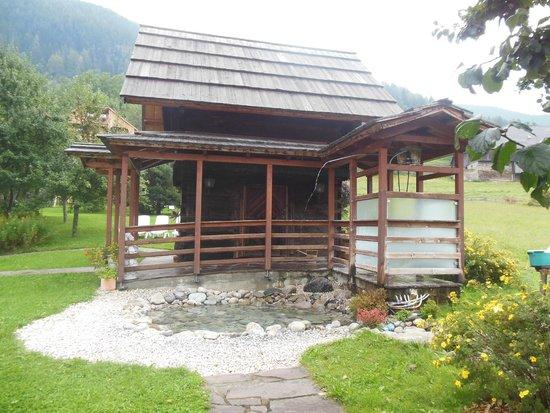 Thermenwelt Hotel Pulverer: Sauna esterna