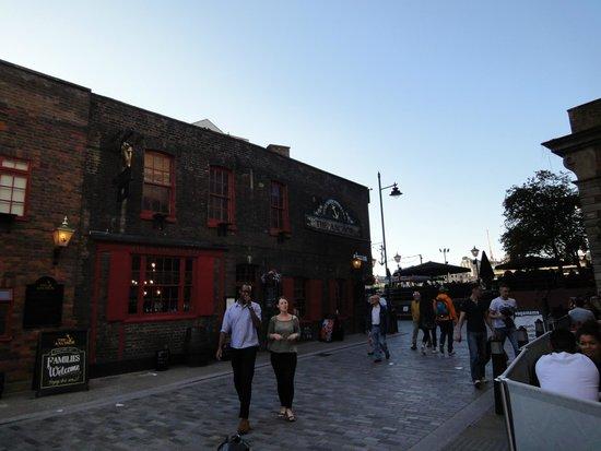 The Anchor : popular pub.
