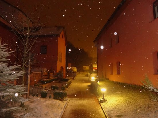 Hotel Stary Pivovar: unfortunately we didn`t make any pictures inside, but this one really shows the spirit of the ho
