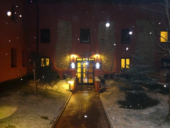Hotel Stary Pivovar: Aaand this is the entrance