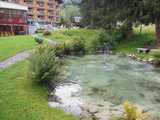 Thermenwelt Hotel Pulverer: Parco