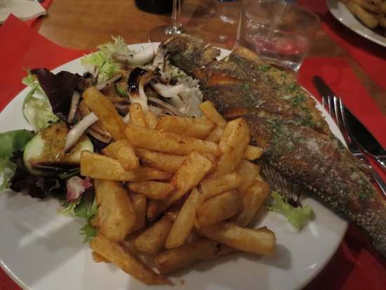 Bar Molino: Fish of the day