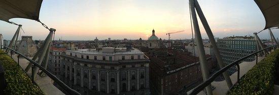 Hotel Dei Cavalieri: Panoramic View from Rooftop Restaurant & Bar