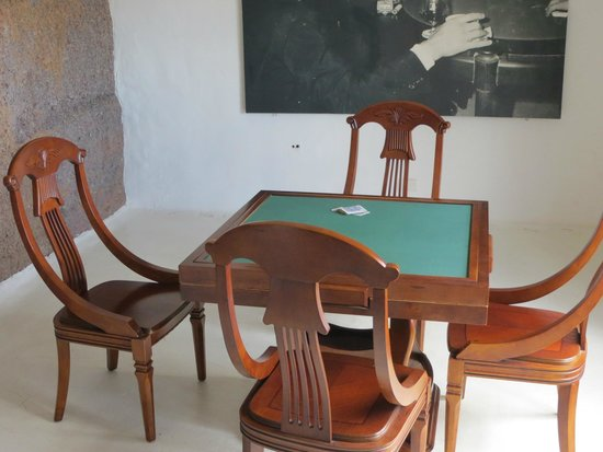 Lagomar Museum: The story goes that Omar Sharif lost Lagomar in a Card-Game