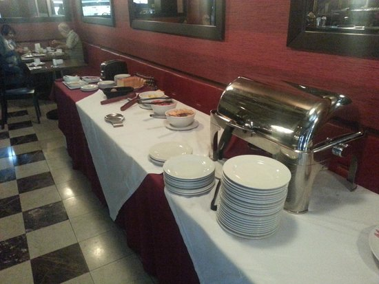 Hotel Morrison 84: Desayuno
