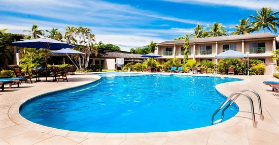 Tanoa Waterfront Hotel: Pool