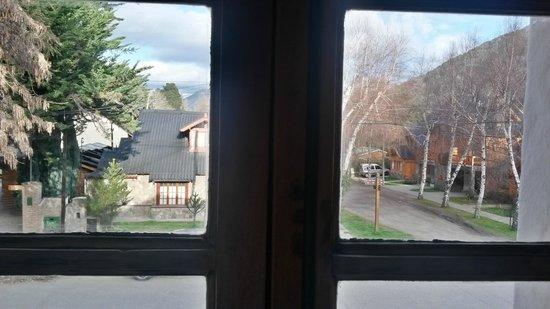 La Raclette Hosteria y Restaurant: Vista desde la ventana de la habitación