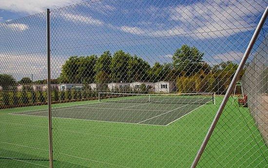 camping la chapelle tennis court camping la chapelle argelas sur