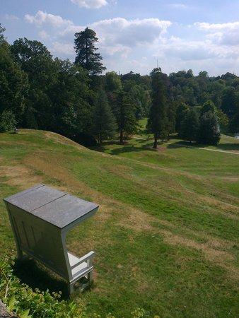 Claremont Landscape Garden: View from top of the amphitheatre