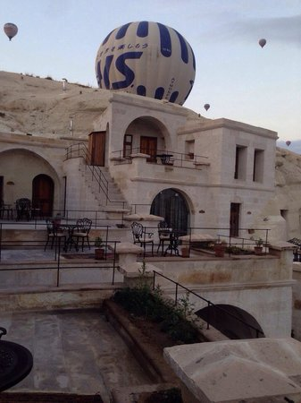 Phocas Cave Suites : Balon seyri müthiş��