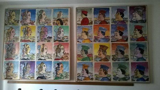 B&B La casa di Elide: Il quadro che ho più adorato!