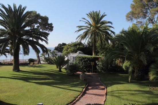 La Villa Mauresque : le jardin
