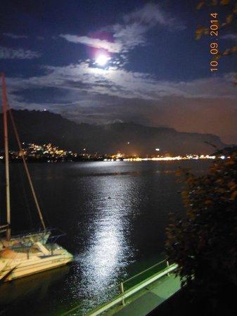 Notte di luna dal terrazzo