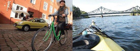 Potsdam per Pedales: pedales - feinste Touren per Paddel und Pedale