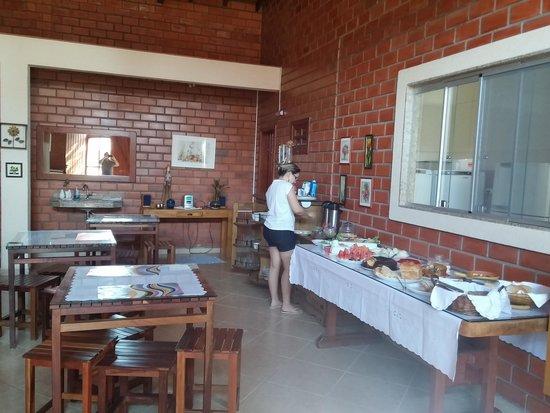 Pousada Galeria Artes: the best breakfast ever.....