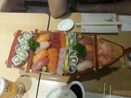 Yokorama : Sushi boat