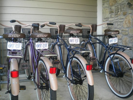 Newport Resort: Free bikes