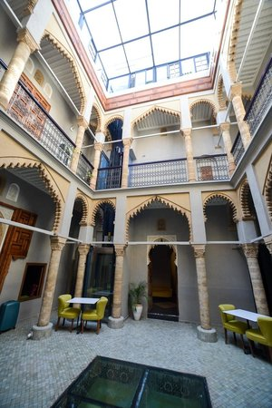 Riad L'Alcazar: Common areas