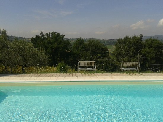 B&B In Villa : Piscina e panorama