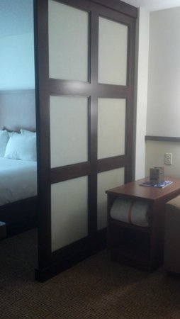 Hyatt Place Fort Myers at The Forum: Separate bed/living area