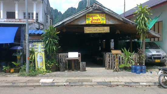 Jungle Restaurant : This is by jungle bar and restaurant by day.