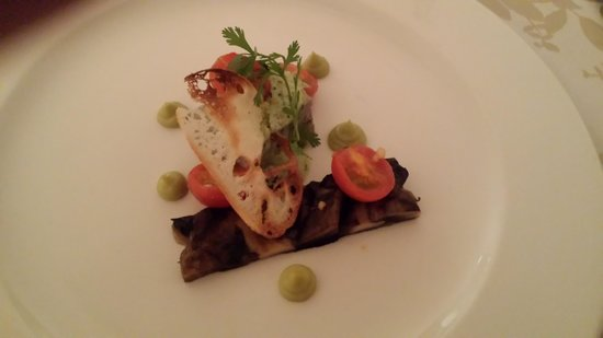 Devonvale Golf & Wine Estate : Mushroom Starter