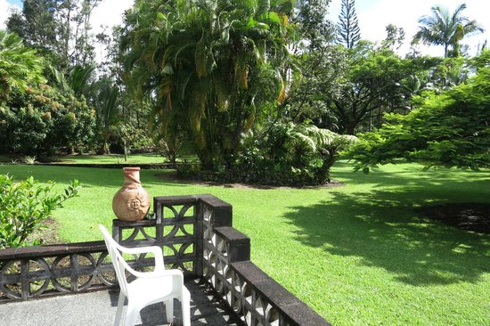 Hale Moana Bed & Breakfast: One of the views from The Garden Suite