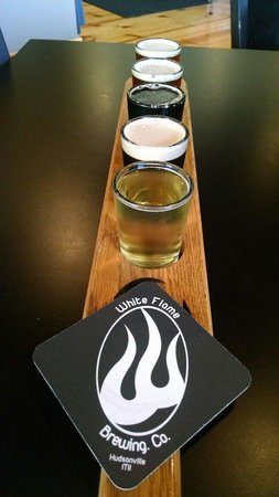 White Flame Brewing Company: Group on special