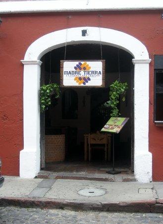 Casa Escobar Restaurant : Entrance to Madre Tierra - 1/2 block north of Casa Escobar