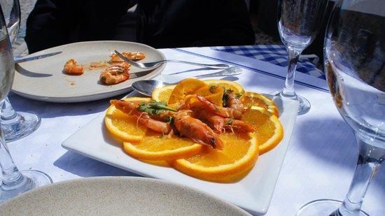 Vivmar: Camarão com laranja