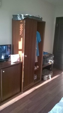 Hotel Altinsaray: vue globale chambre