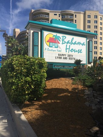 Bahama House: Great way to remember our 25th anniversary