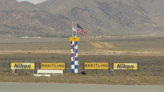The Start Finish Pylon - Picture of Reno Air Racing Association