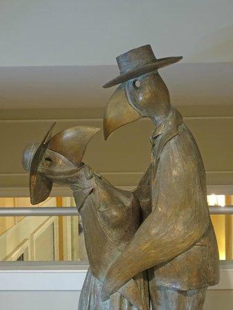 The Westin Hilton Head Island Resort & Spa: Bronze Life Size Statues Throughout Hotel