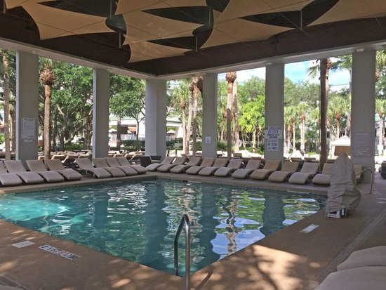 The Westin Hilton Head Island Resort & Spa: Love this Covered Outdoor Pool