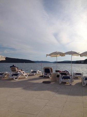 Admiral Grand Hotel: private beach