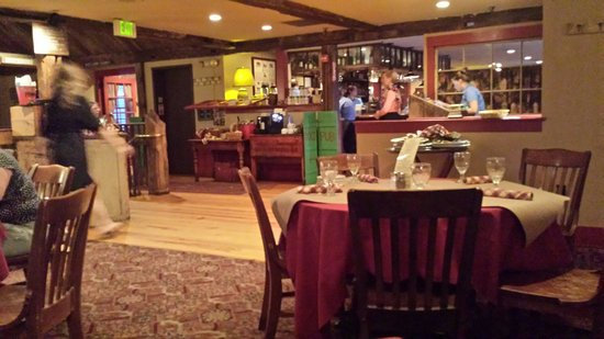 The Common Man : Second floor Dining room.