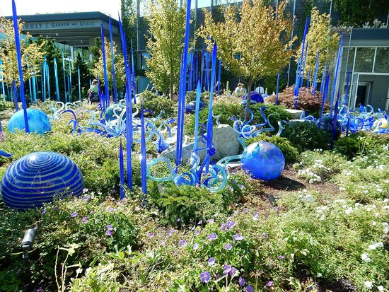 Mille Fiori Pictures Can 39 T Capture The Experience Chihuly Garden And Glass Seattle
