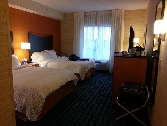 Fairfield Inn & Suites Germantown Gaithersburg : Entering