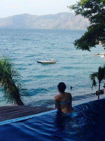 Hotel Selva Azul: Piscina privada habitación Bali