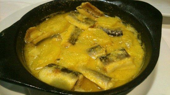 Bar Restaurante Galicia: Anguila con all i pebre