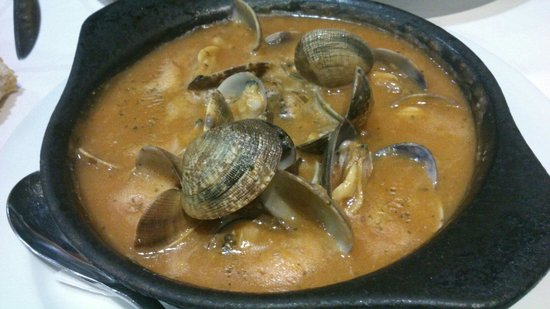 Bar Restaurante Galicia: Almejas a la marinera