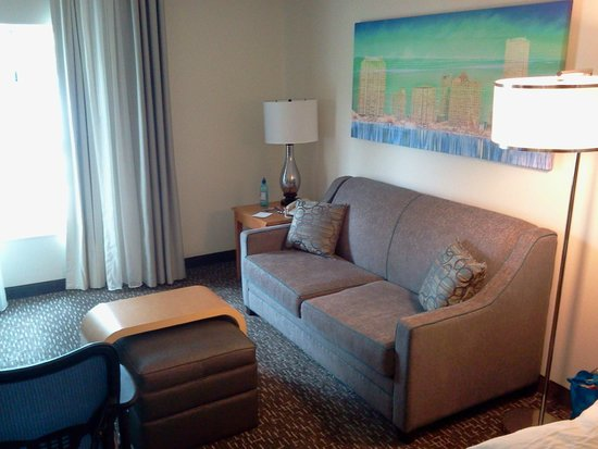 Homewood Suites Miami-Airport / Blue Lagoon: Front Room Suite