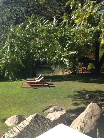 Milliken Creek Inn and Spa: View from our room - beautiful