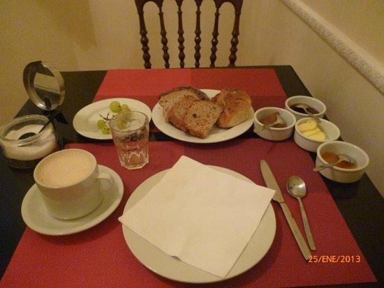 La Perla: Desayuno