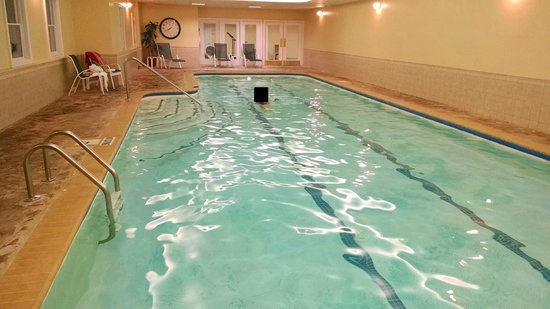 Palmer House: indoor pool