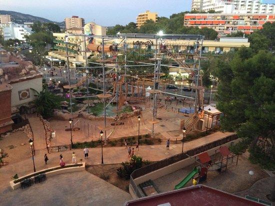 Sol Katmandu Park & Resort: Climbing frame view from room