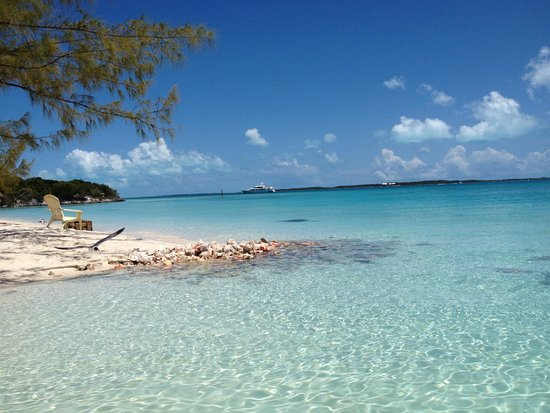 George Town, Great Exuma: Like looking at a calendar